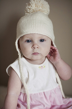 Knitting Pattern For Infant Hat With Ear Flaps : Jane Richmond Blog: Petite Purls Earflap Hat