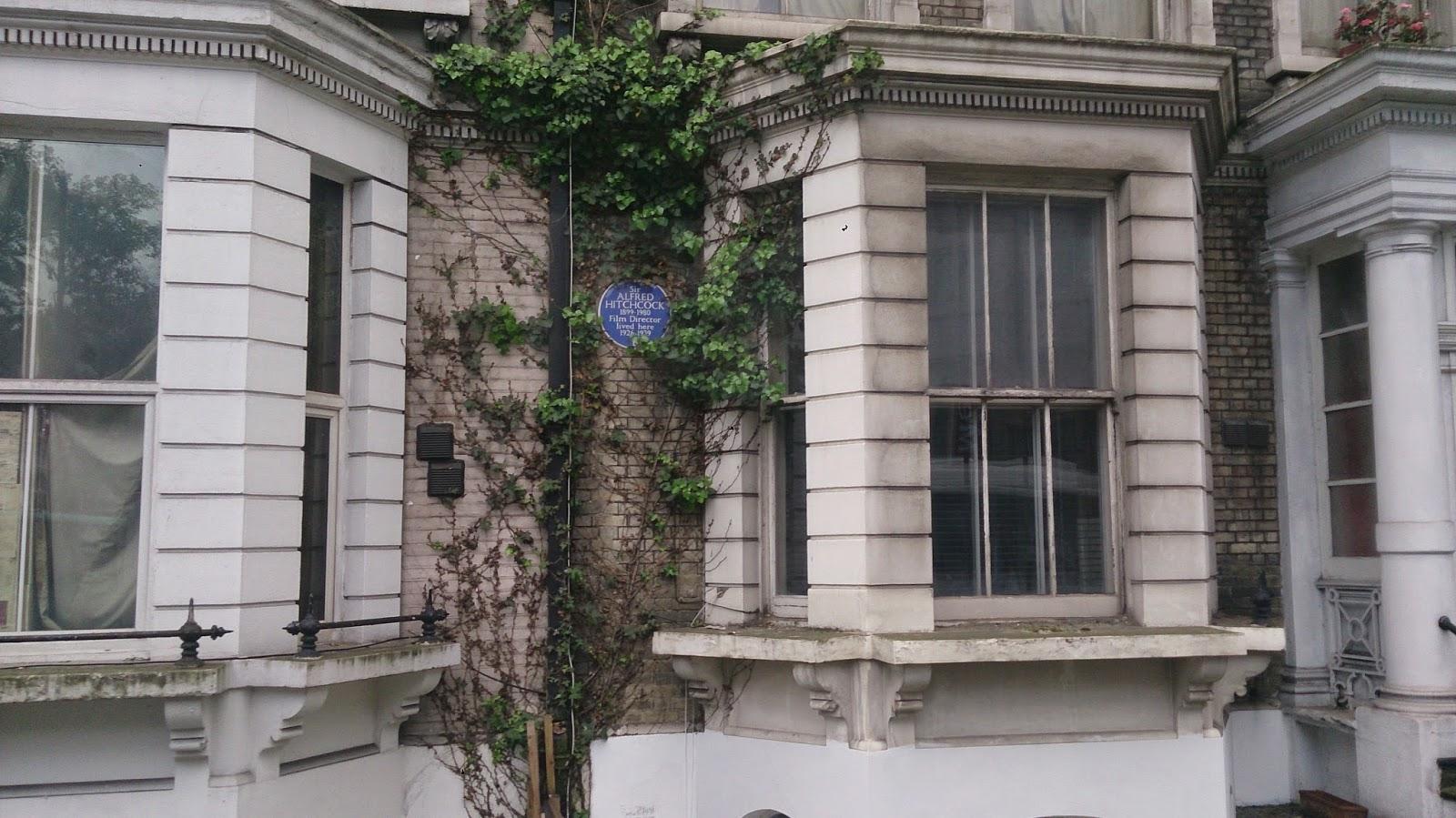 英國 單車 足球 聚舊之旅 倫敦 大導演希治閣 住所
