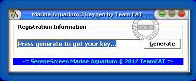 serene marine aquarium 3 keygen