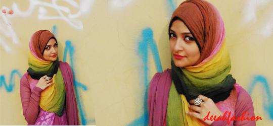 Pelangi Hijab Trend Pashmina Warna
