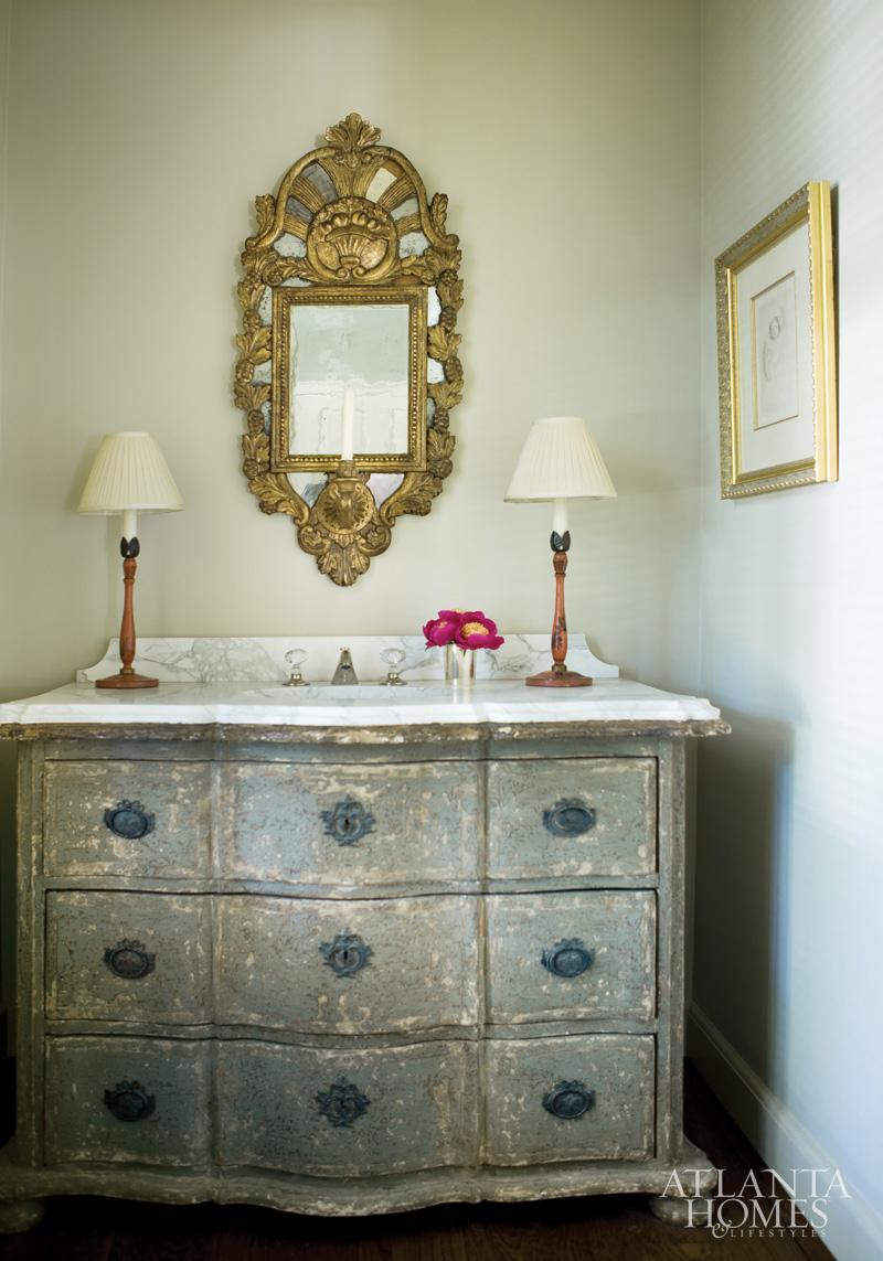 A life 39 s design classic remix for Bathroom vanity outlet atlanta
