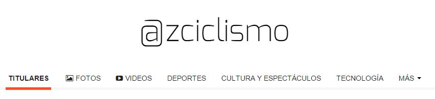 Periodico: @zciclismo