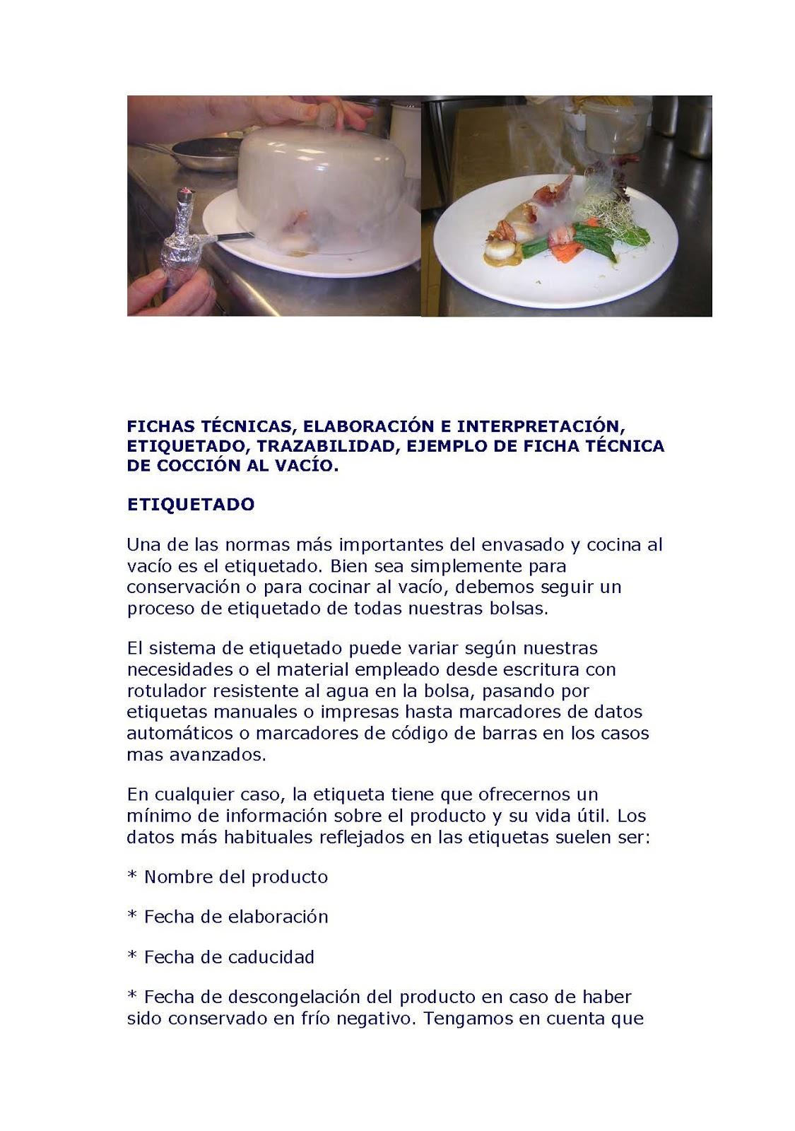 Global cocinas t cnicas la cocci n al vac o ampliado Procesos de cocina jose luis armendariz