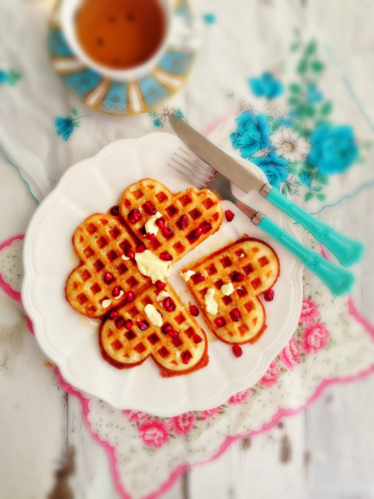 sweetsugarbean: Yeasted Brown-Butter Waffles & How Ren Got ...