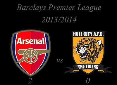 Arsenal vs Hull City Barclays Premier League 2013