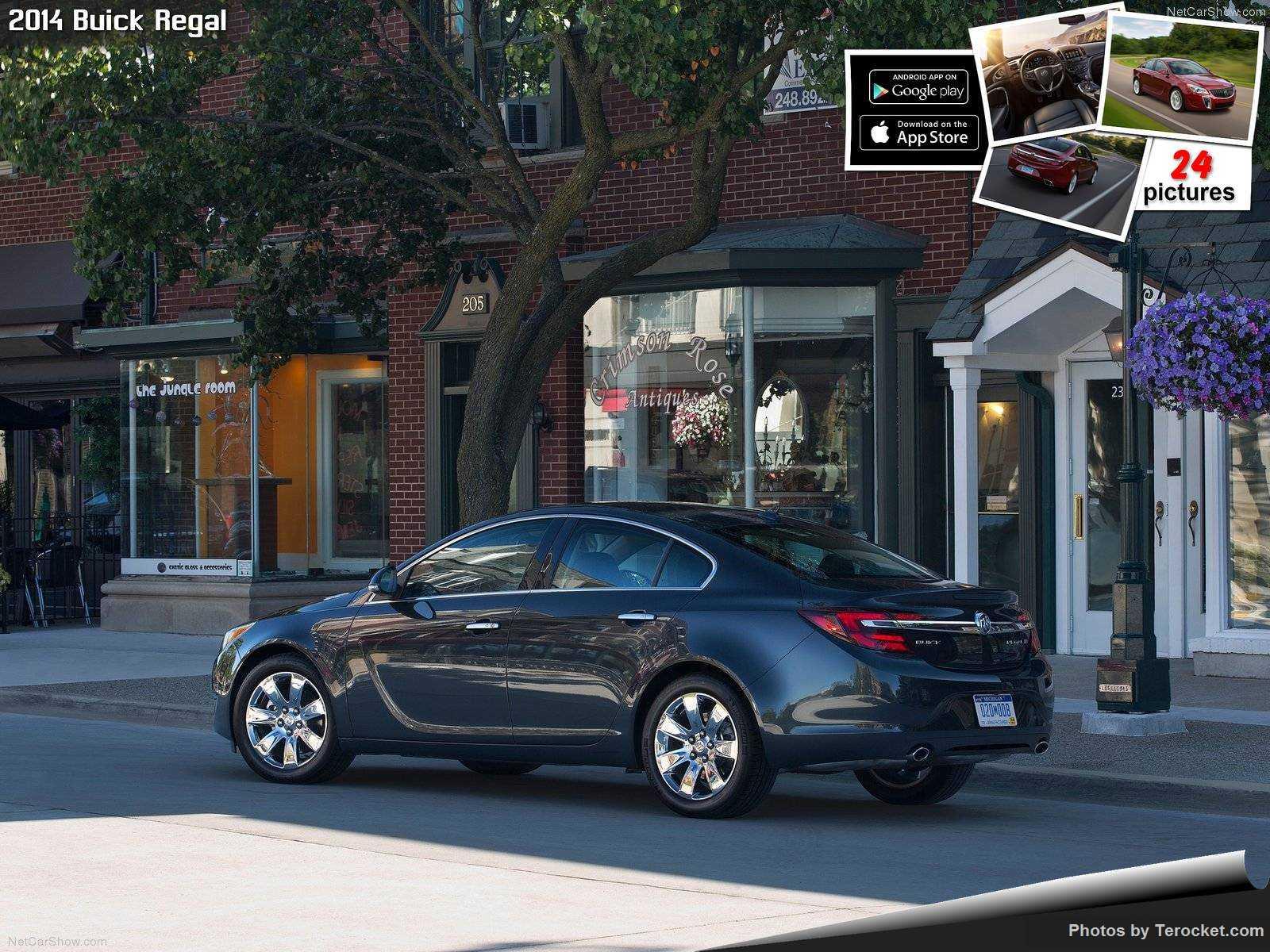 Hình ảnh xe ô tô Buick Regal 2014 & nội ngoại thất