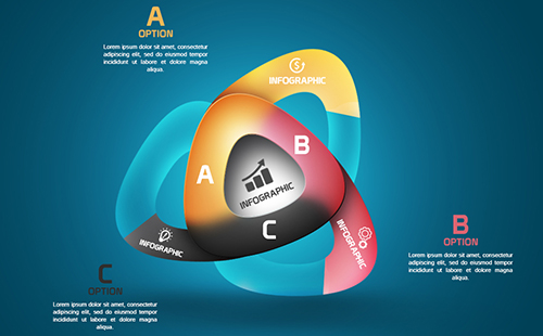 Infographic Tutorial infographic tutorial : Photoshop Tutorial Graphic Design Infographic Abstract Rounded ...