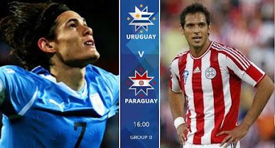 Uruguay v Paraguay Copa America live stream