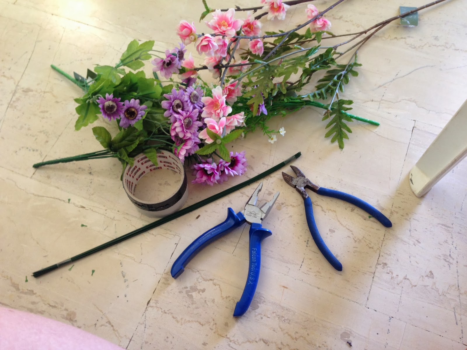 Lashes lipstick and lifestyle diy flower crown steps izmirmasajfo