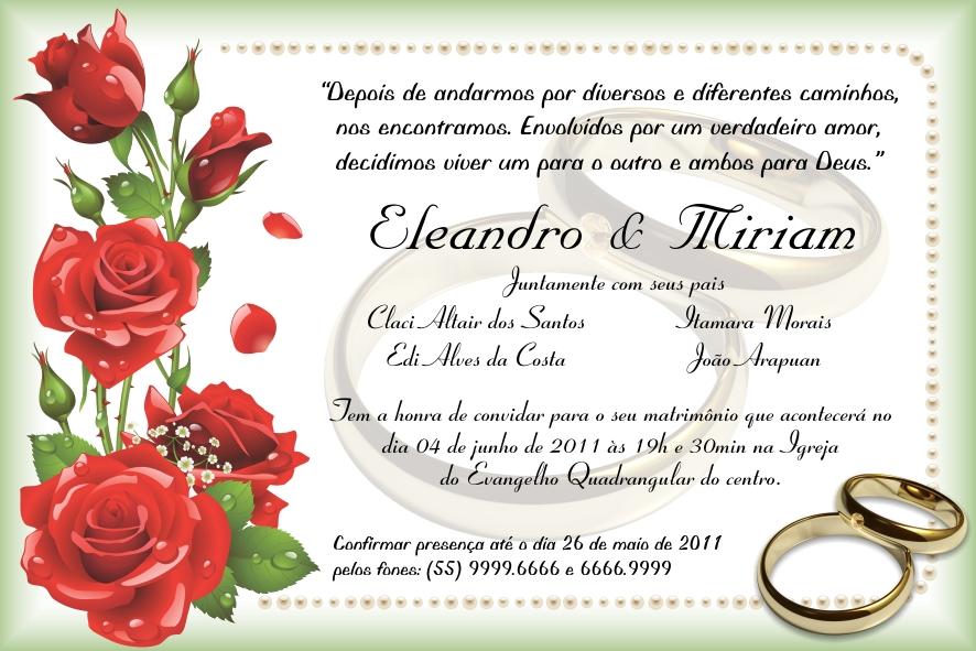 Bordas Convite Casamento Corel Draw