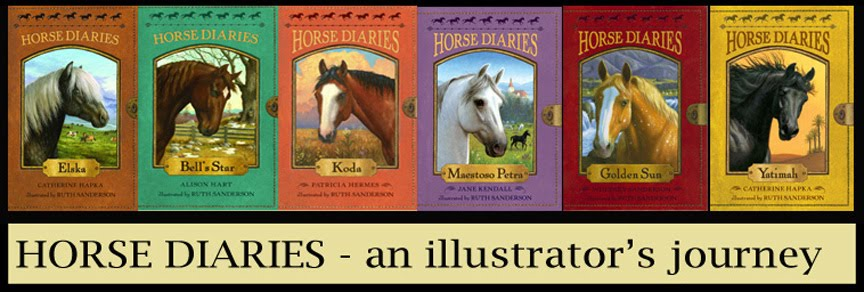 Horse Diaries- An illustrator's journey