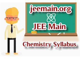 JEE Main Chemistry Syllabus