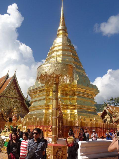Scrumpdillyicious: Doi Suhtep & Wat Suan Dok in Chiang Mai, Thailand