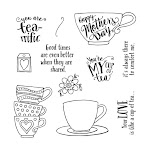 CTMH's March Stamp of the Month - Tea-rrific (S1703)
