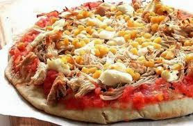 Massa de pizza light