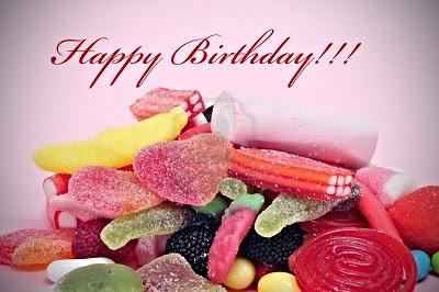 Happy Birthday golosinas