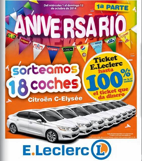 catalogo aniversario eleclerc 8-10-14