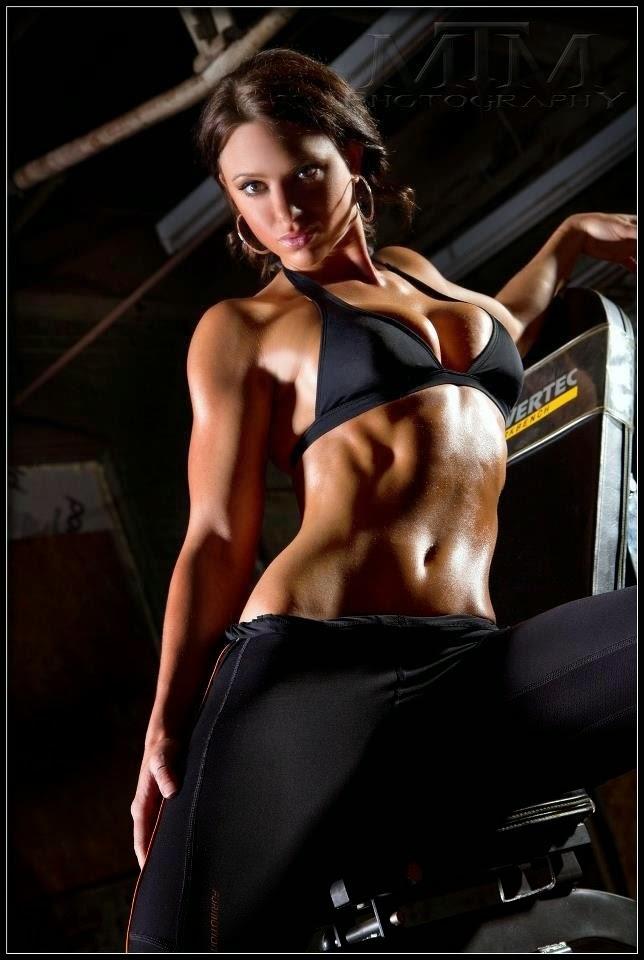 Tabitha Klausen-Leandri - Tabitha Klausen - tall fitness models