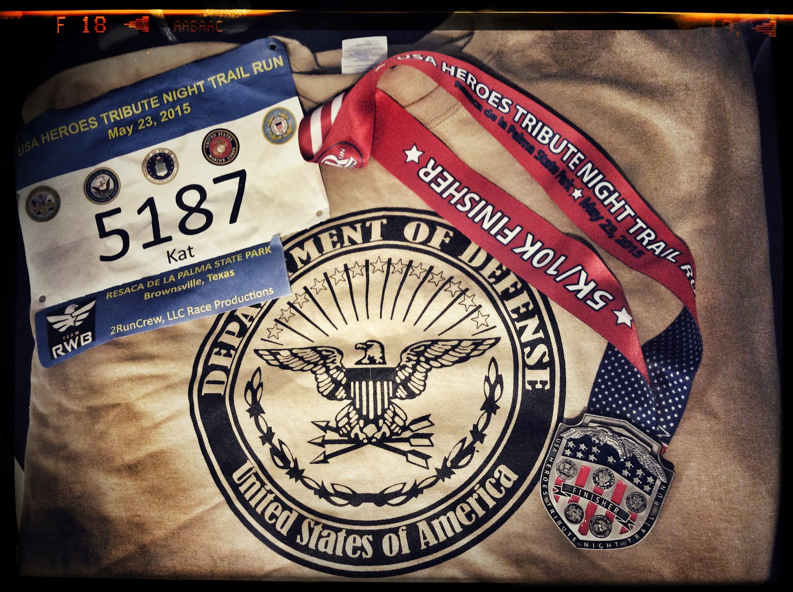 USA Heroes 5K Trail Race - DONE!