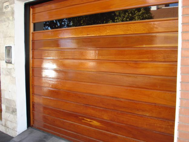 Portones autom ticos lq portones levadizos for Puertas de madera sodimac