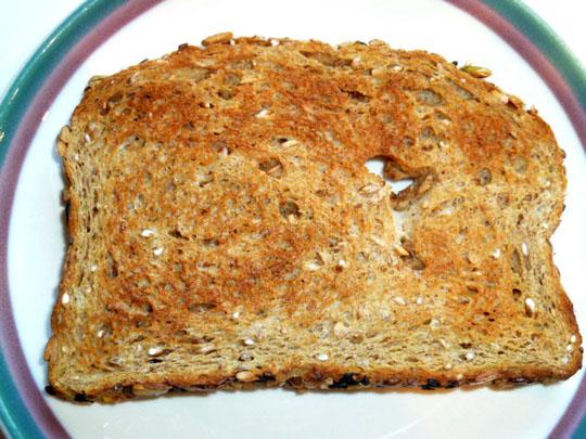 grain and amaranth grain whole grain toast with yogurt and pistachios ...