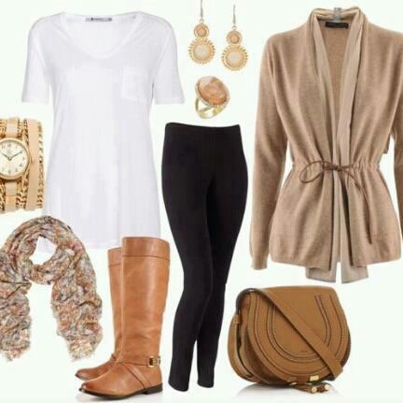 Brown and Golden Fashion Accessories for Women