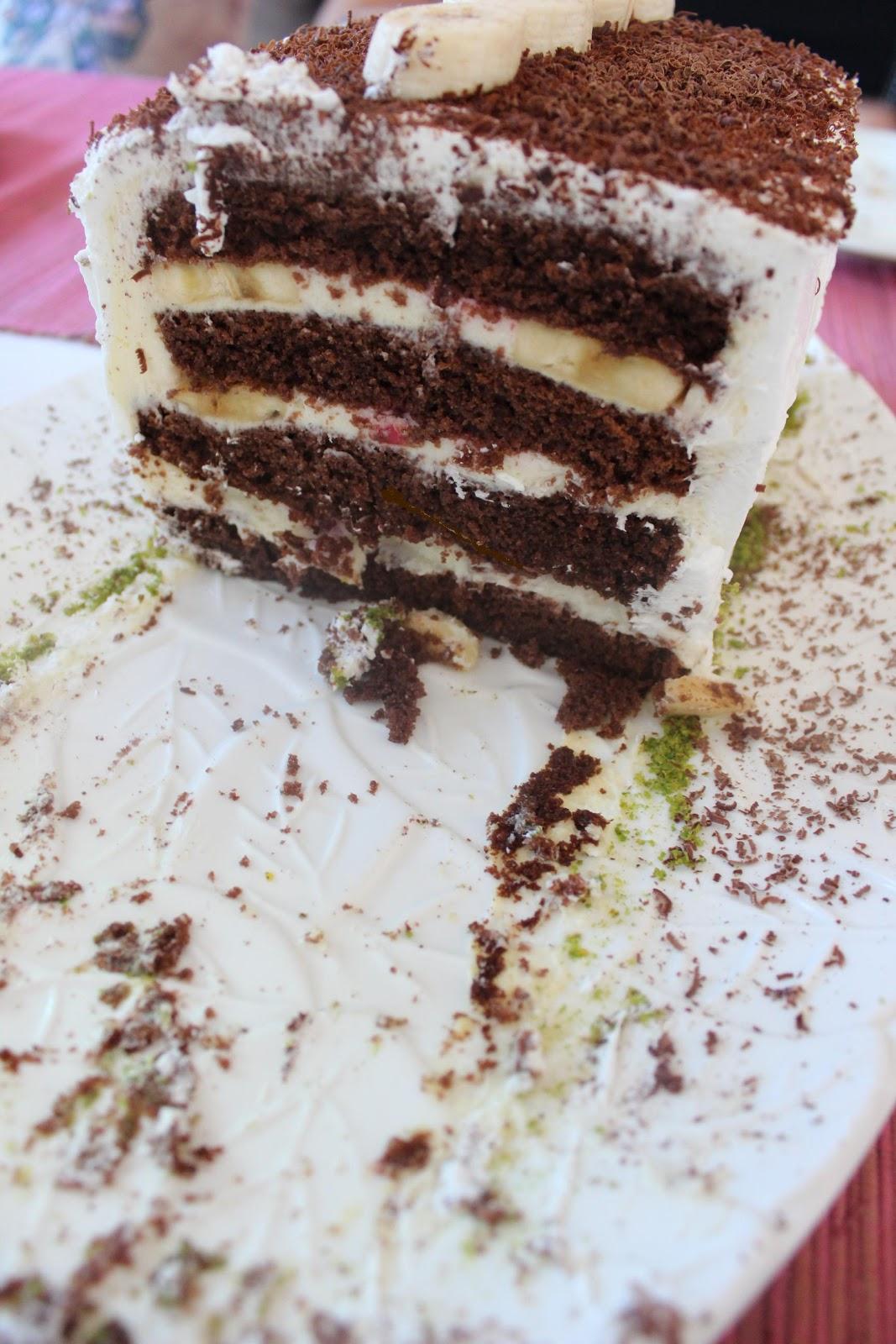 Ahududulu soğuk pasta tarifi