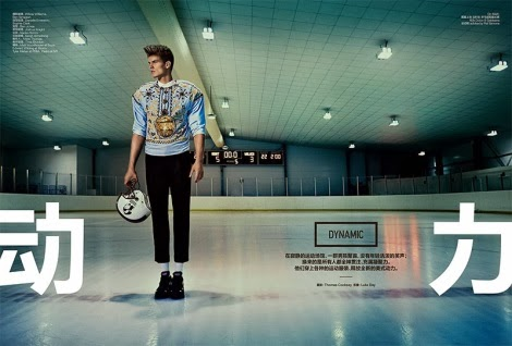 Dynamic by Thomas Cooksey for GQ Style China
