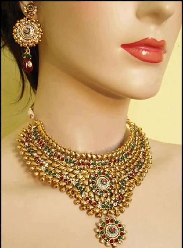 Indian Bridal Jewelry Set 2012 13