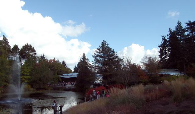 nouveau centre des visiteurs du Jardin botanique VanDusen