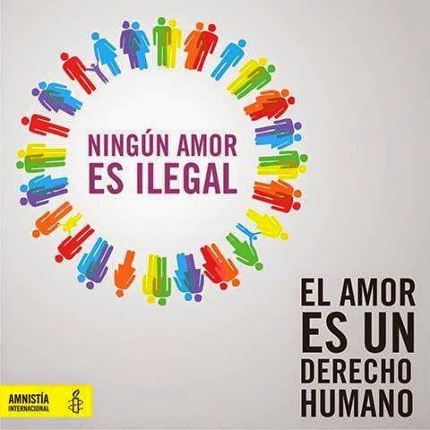 Ningun amor es ilegal.