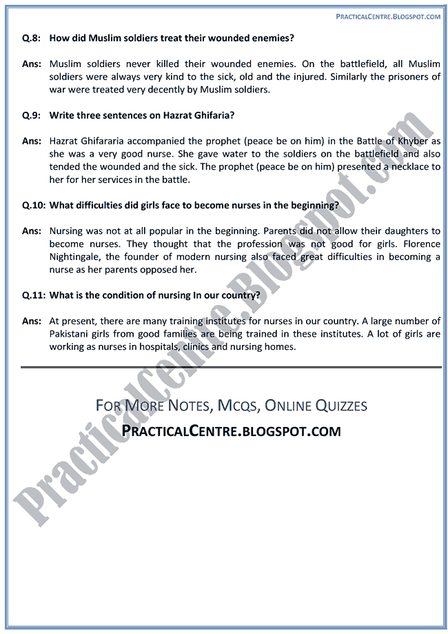 nursing-questions-answers-english-ix