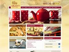 Screen Shot of Deans Web Site