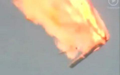 Κοσμοδρόμιο Μπαινκούρ: Συντρίβη μη επανδρωμένου πυραύλου