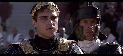 Sin duda, Commodus es de los personajes más odiosos del cine.