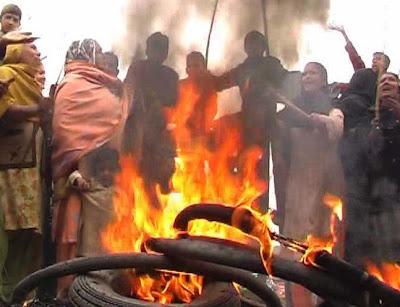 Faisalabad load shedding protest