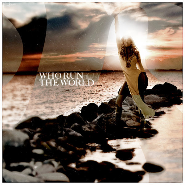 beyonce run the world cover - photo #16