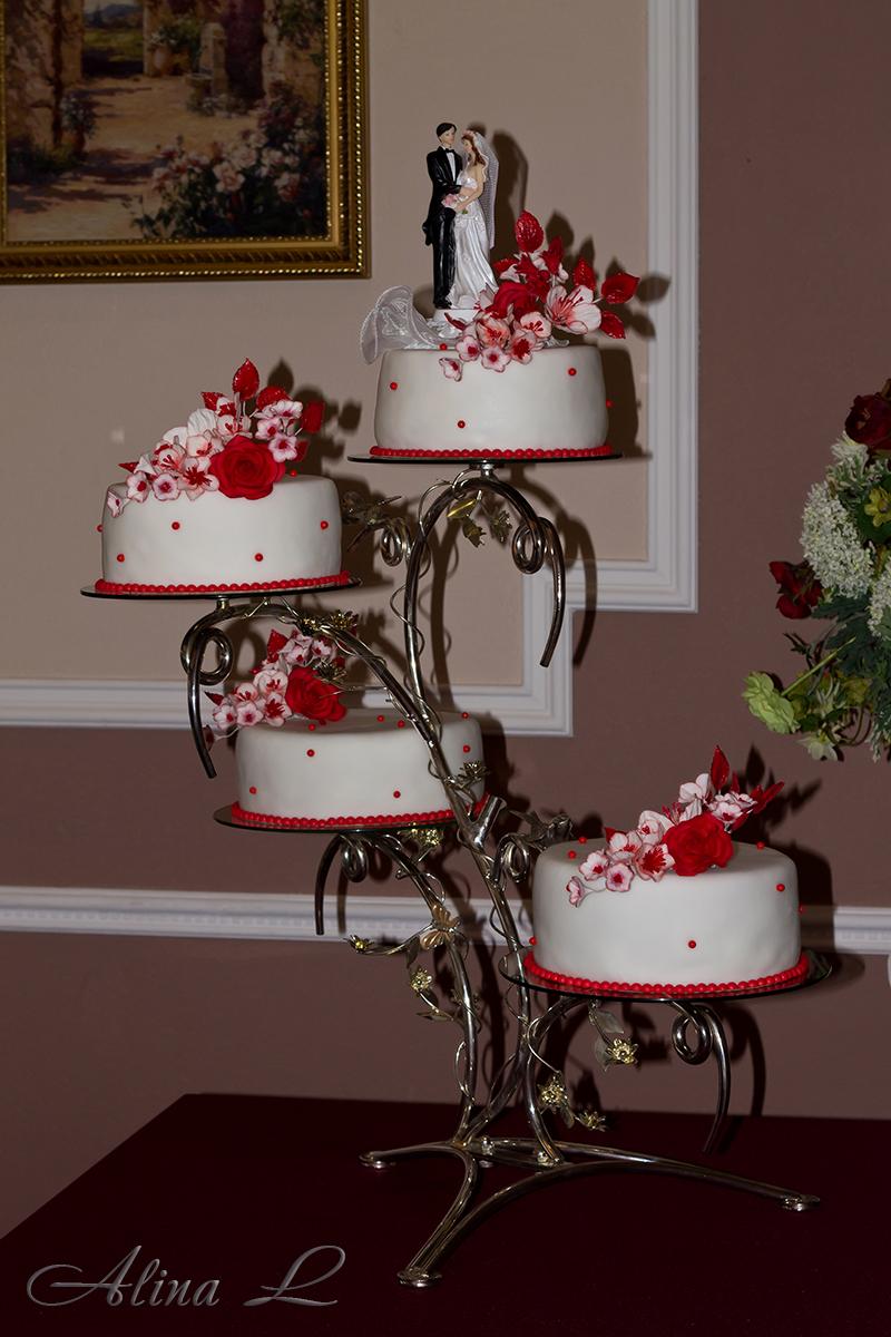 Подставки под свадебные торты своими руками