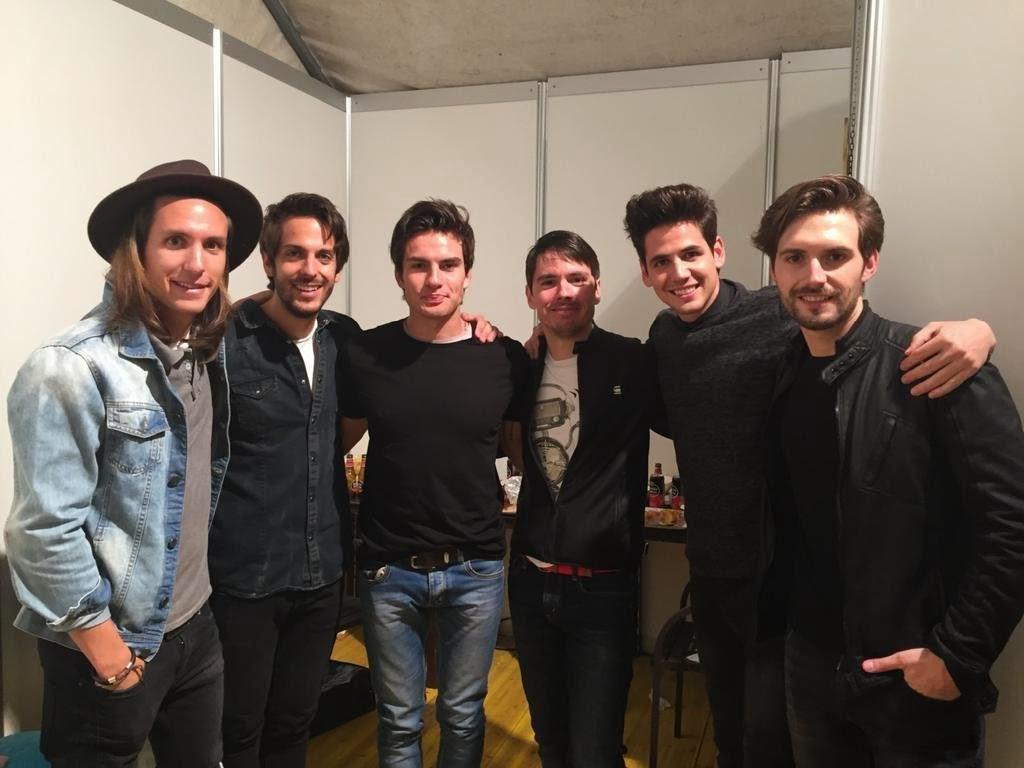 Dvicio fc fotos de dvicio en el concierto de 40 pop for Concierto hoy en santiago