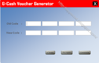 Cheat G-Cash Voucher Generator 2013