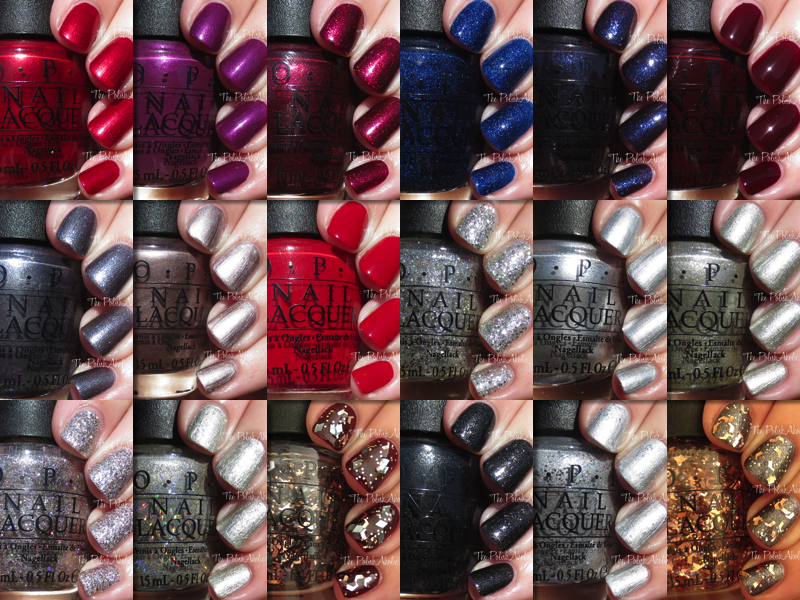 The PolishAholic: OPI Holiday 2015 Starlight Collection Swatches ...