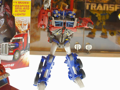 Optimus Prime Transformers Prime Weaponizers BOTCON 2012
