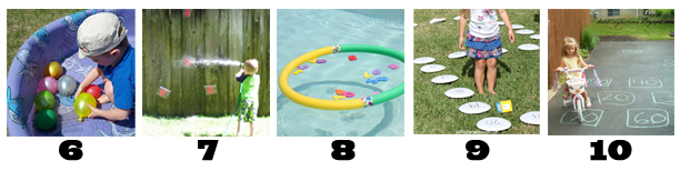 Backyard Learning Activities: Numbers
