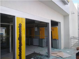 Bandidos tentam assaltar Agência do Banco do Brasil em Canapi