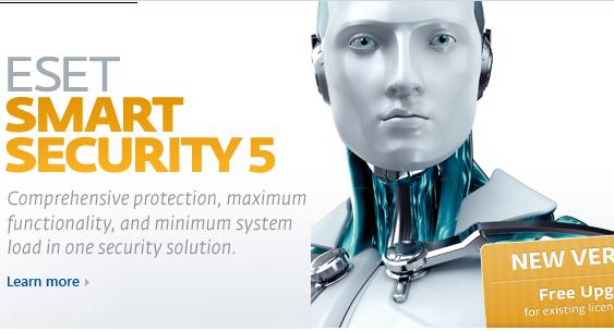 حصريا ESET Smart Security 5 الان احصل على نسختك من عملاق الحماية بثوبه الجديد