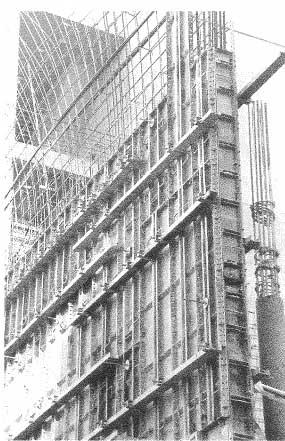 Ejemplo construcción in situ tecnificada.