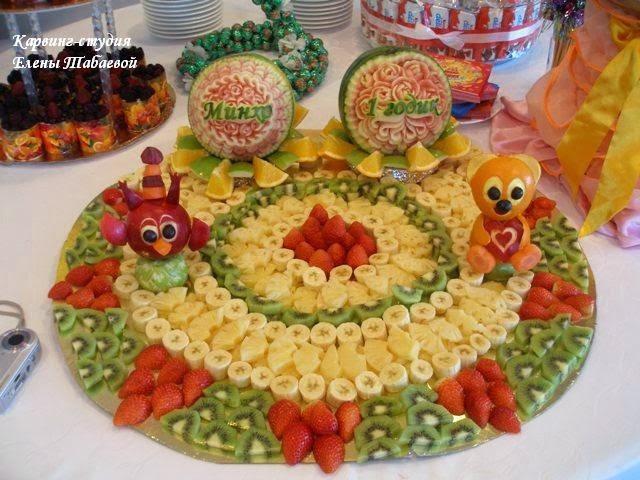фруктовый карвинг на сахалине