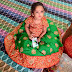 Baby in Green Grand Lehenga