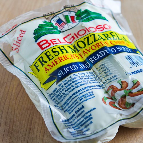 Bel Gioioso Sliced Fresh Mozzarella