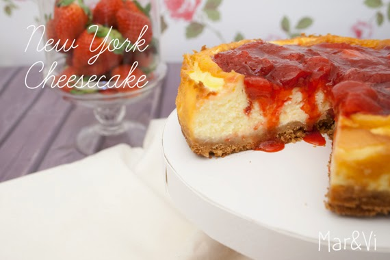 Receta New York Cheesecake